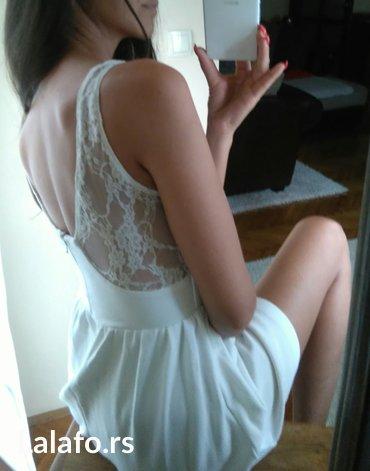 *zara* bajkovita haljina 👑  predivna haljina brenda zara. Bele boje in Novi Sad