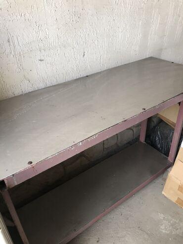 Металический Стол! Столешница алюминиевая НЕРЖАВЕЙКА!!!для столовой, к