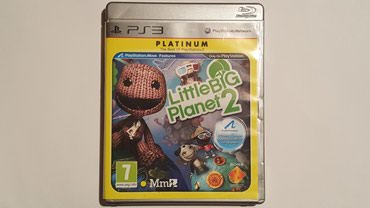 Little Big Planet 2 je original igrica na disku za konzolu Sony - Beograd