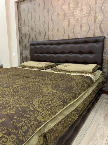 Двуспальные кровати в Кыргызстан: Продаю 2х спальную кровать . Состояние отличное ! Цена без матраса