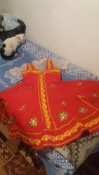 Платье для русских народных танцев.мама сама шила сестренке когда она