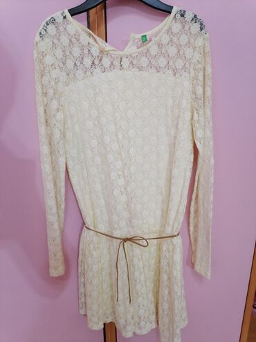Za haljina - Srbija: Benetton haljina, velicina 2XL za decu (xs za odrasle)