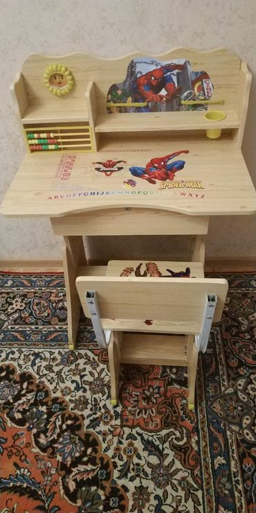 Xırdalan şəhərində Uşaq masası,təzədi,qız üçündə var,başqa modellerimizde var,