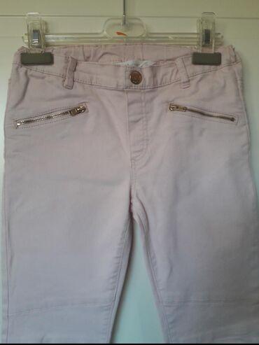 HM 8-9Pamucne tanje pantaloneUzi modelSvetlo rozeDugme je