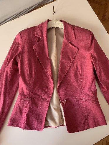 Ženska odeća | Kursumlija: Katrin roze sako, velicina 36