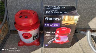 Tozsoran BoschYeni 4702 modelGüc 3200 wattSu ilə işləyir Bütün zibili