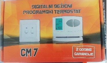 Digitalni, bežični, sobni termostat CM7 (garancija 2 god.)Ukoliko dođe