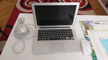 macbook pro i7 fiyat - Azərbaycan: Apple MacBook Air (13-inch, Early 2014) + MouseMacBook Air Early 2014