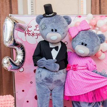 Мишки Тедди на встречу гостей, в Бишкек