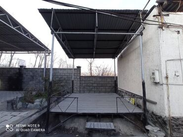 Продам топчан металлические не разборный крыша профнастил размер