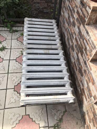 продам батареи отопления в Кыргызстан: Чугунную радиаторы продам!Готовь к зиму.Сосстояние хорошая,очищенный