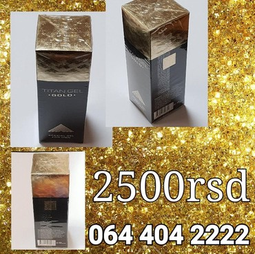 TITAN GEL GOLD - Belgrade
