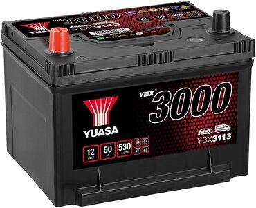 dünya xeritesi - Azərbaycan: Yuasa YBX3000 SMF Batteries YBX3113 12V 50Ah 530A. FLEETSTOCK şirkəti