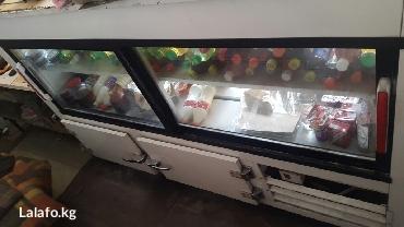 Холодильник витриный. длина 2 метра в Лебединовка