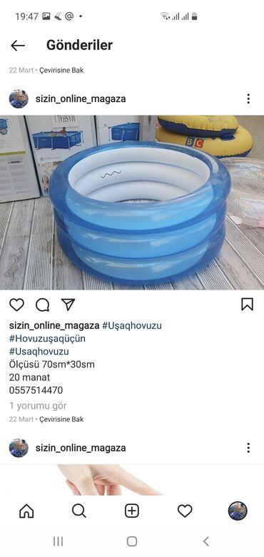 su hovuzu satilir in Azərbaycan   HOVUZLAR: Uşaq hovuzu Hovuz uşaq üçün Usaq hovuzu Ölçüsü 70sm*30sm