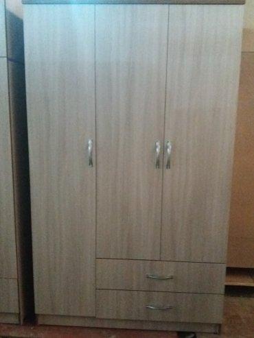 3-створчетый шкаф размер: ширина 1.20#2 высота в Бишкек