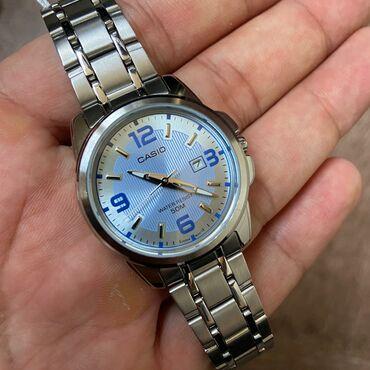 часы-и-нож в Кыргызстан: Голубой Женские Наручные часы Casio