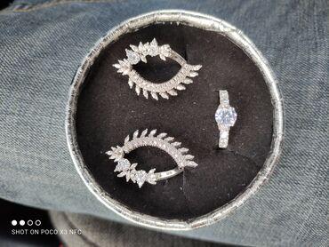 Продаю кольцо с серёжками комплект! Новые! Не носились!
