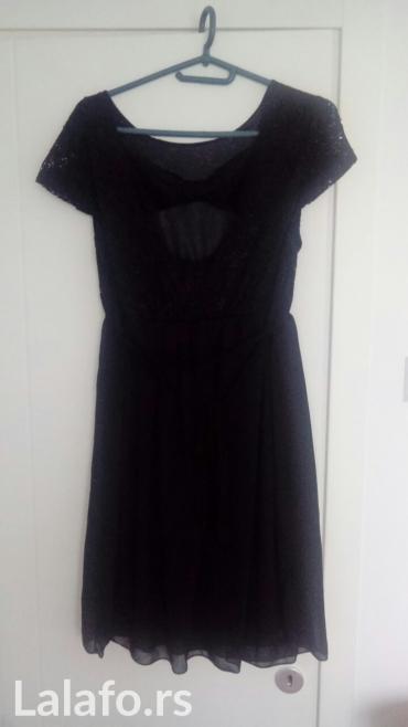 Crna haljinica jednom nošena l/xl,kao nova - Nis