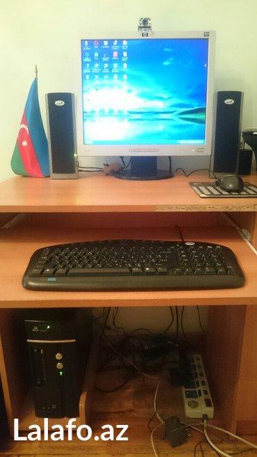 Bakı şəhərində Komputer (hp 19 ekran monitor,sony prosessor,genius kalonka,genius mou