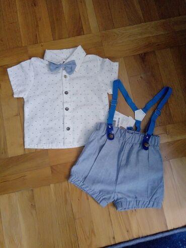Ostala dečija odeća | Crvenka: Komplet za bebu. Naznaceno za 9 meseci. Kosulja duzina 30 cm, sirina