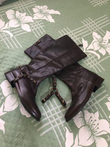 Личные вещи - Ош: Geox кожаные деми сапоги размер- 40 (евро размер)  привозные из герман