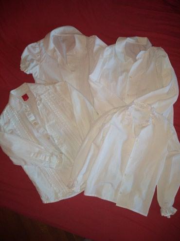 Dečije bele košulje,neke nisu ni nošene,prikladne za priredbe - Vrsac