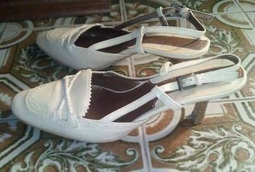 Cipela, koža, krem bele - Novi Sad