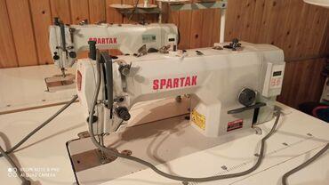 производственная-швейная-машина-купить в Кыргызстан: Швейная машинка, без шумный полу, автомат в очень хорошем состоянии