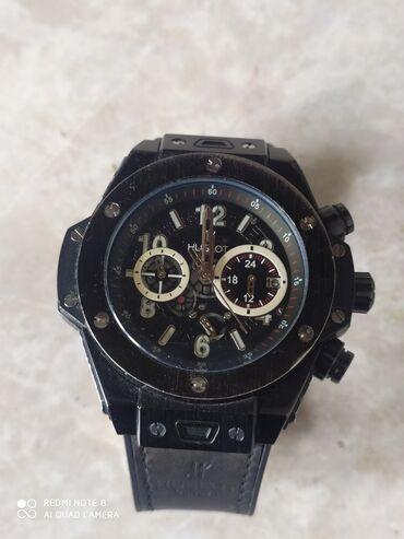chasy original patek philippe geneve в Кыргызстан: Черные Мужские Наручные часы Hugo Boss