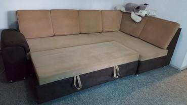 Продаю диван угловой, раскладной 15000 звоните  в Бишкек