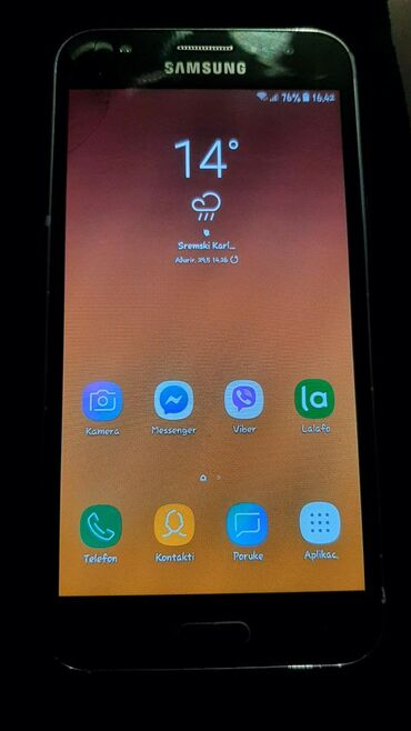 Upotrebljen Samsung Galaxy J5 8 GB bela