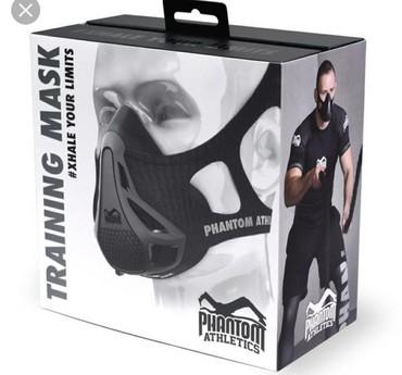 """Training Mask """"Phantom""""-tənəffüs ritmini tənzimləyir,dxanyanı"""