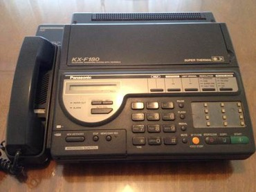 Телефон-флай-fs407 - Кыргызстан: Телефон-факс с автоответчиком (мини АТС) Kx-f180, в хорошем состоянии