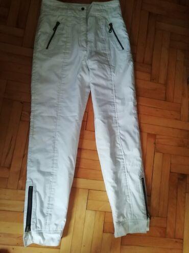 Pantalone vekivina - Srbija: Bele ski pantalone L veličinaStruk 40,dužina 112 cmVeoma su duboke
