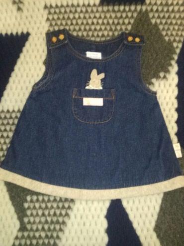 Джинсовые платье. Размер 3-6 месяцев. в Бишкек