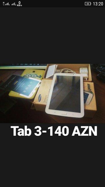 Bakı şəhərində Samsung Galaxy Tab 3(smt211),8gb yaddaskarob