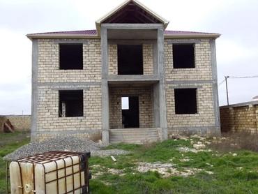 sarayda - Azərbaycan: Satılır saray qesebesi 2 mertebeli tikili remontsuz 12sot torpagda