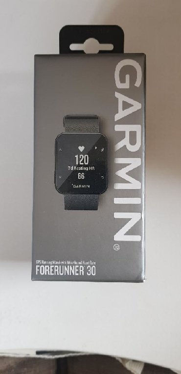 Activity tracker Garmin forerunner 30 καινούριο ρολόι δραστηριοτήτων