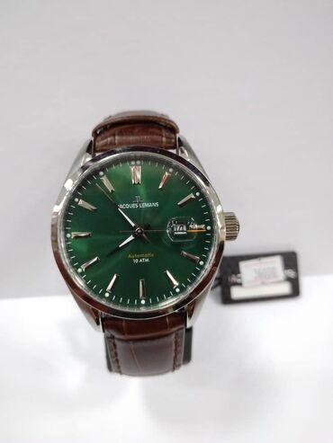 Зеленые Мужские Наручные часы Jacques Lemans