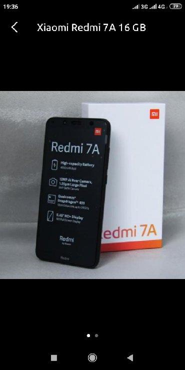 Redmi 7a 2 GB Ram 16 Gb yadas 1 ay islenib resmi 1 il qarantiyasi var