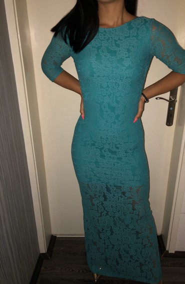 Tirkizna elegantna haljina - Razanj