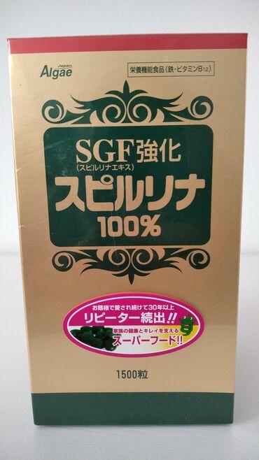 Личные вещи - Арашан: Спирулина от японской фирмы Алгае 1500 таблеток БАД