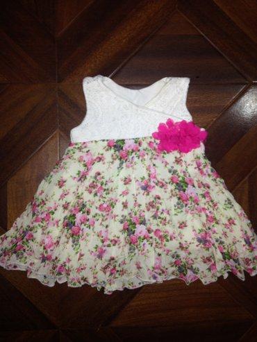 красивое платье на девочку с 0-3-4 месяцев в Бишкек