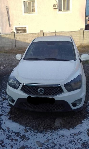 продаю SsangYong Actyon Sports 2013 год, 5 мест, объем 2,3 в Бишкек