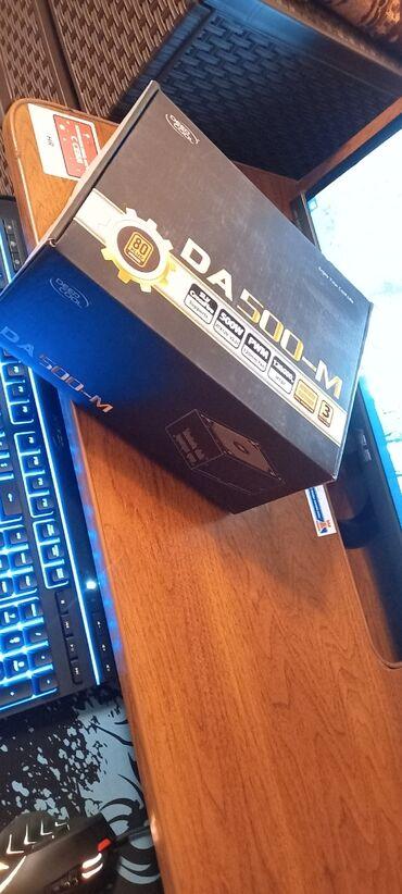 видеокарты бу купить в Кыргызстан: Deepcool DA500-M Блок питания почти новый с сертификатом бронза