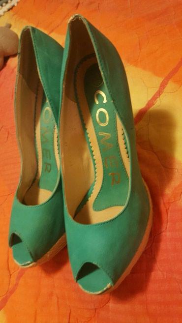 Tirkizne cipele br.40 - Pozarevac