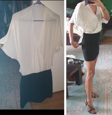 Svilena ZARA haljina, potpuno nova, velika mi je. Izgleda kao majica i - Belgrade