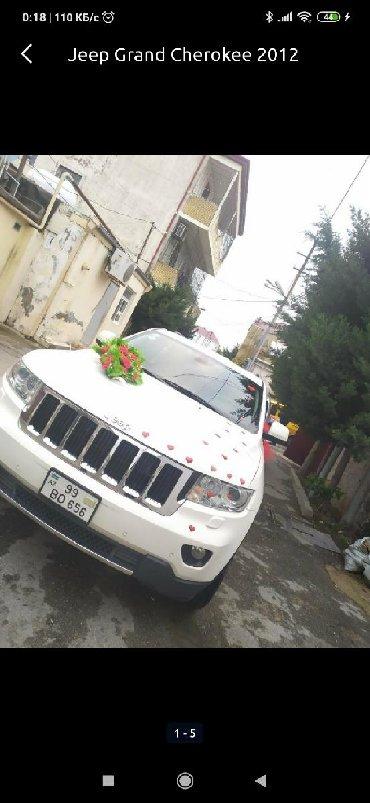 Jeep Azərbaycanda: Jeep Grand Cherokee 3.6 l. 2012 | 110000 km