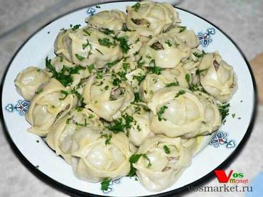 Манты вкусные!!!80 сом порция доставка бесплатно!!! в Бишкек